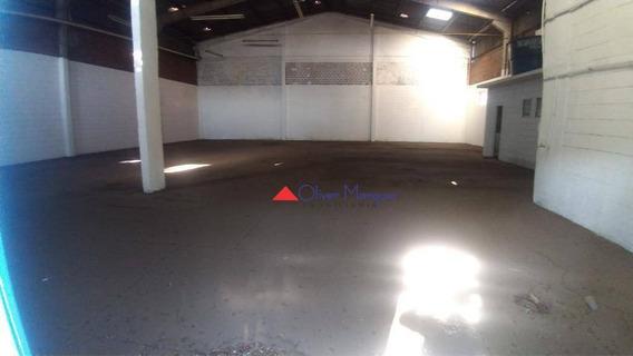 Galpão Para Alugar, 788 M² Por R$ 12.000,00/mês - Piratininga - Osasco/sp - Ga0225
