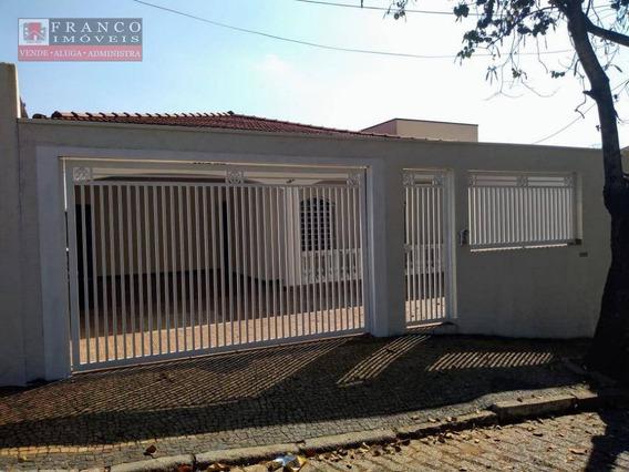 Casa Com 4 Dormitórios Para Alugar, 260 M² Por R$ 3.000/mês - Jardim Bela Vista - Valinhos/sp - Ca0588