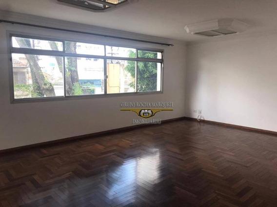 Apartamento Com 3 Dormitórios Para Alugar, 158 M² Por R$ 1.600,00/mês - Belém - São Paulo/sp - Ap2454