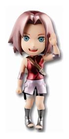 Mini Bonecos Naruto Shippuden Wcf Metallic Sakura