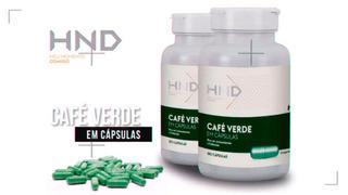 2 Café Verde Termogênico Hinode 120 Cápsulas Frete Grátis