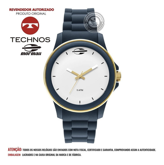 Relógio Mormaii Feminino Maui Mo2036ip Technos C/nota Fiscal