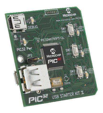 Placa De Desenvolvimento Microchip Dm320003-2 Controle Pic