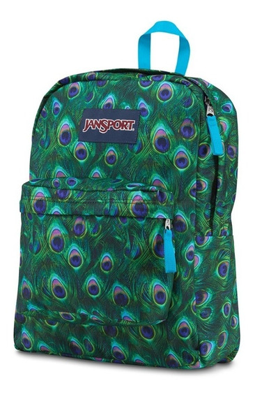 Mochila Jansport De 25 Lts. Super Break (multipeacock)