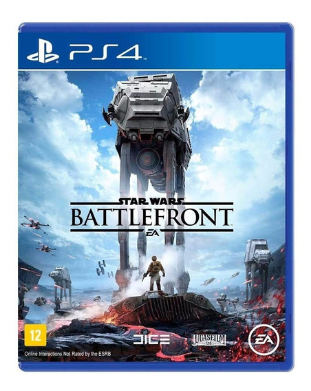 Star Wars Battlefront Ps4 Midia Física