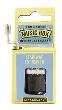 Kikkerland Juegos Caja Musical Melodia Stairway To Heaven