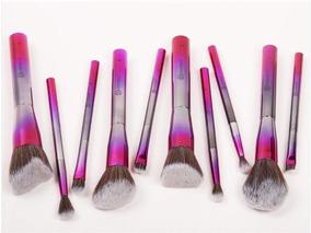 Set De 10 Brochas De Bh Cosmetics - Royal Affair