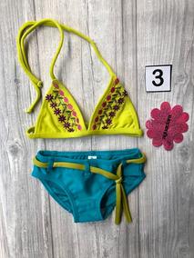 Traje De Baño Bikini Niña Aguaclara Talla 3