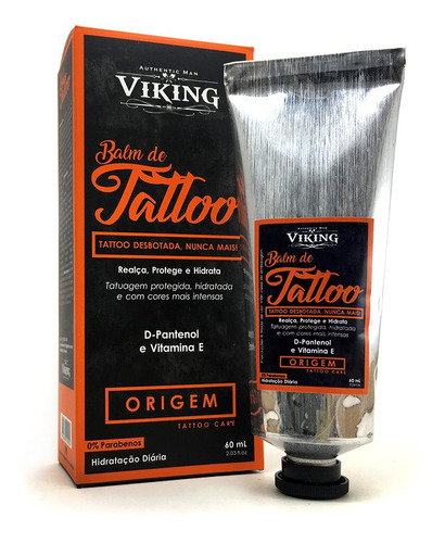 Balm De Tattoo - Origem - Viking 60 Ml