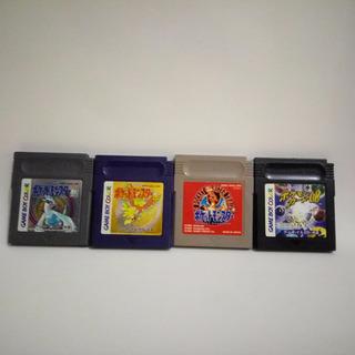 Pokemon Gold, Silver, Red E Trading Card Gameboy Originais