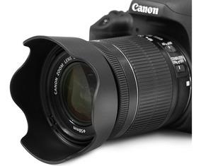 Para-sol Lente 18-55mm Canon / Tulipa 58mm Canon