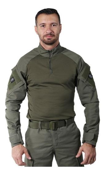 Combat Shirt Verde Oliva - Bélica