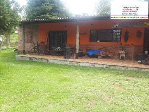 Imagem 1 de 15 de Chácara Muito Bem Localizada Mogi Das Cruzes Com Piscina - 549