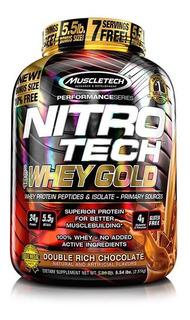 Nitro Tech 100% Whey Gold 5,5 Lbs. Muscletech