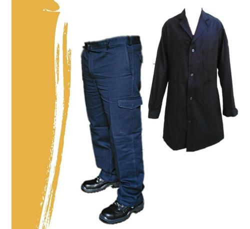 Pantalón Cargo Maser Tipo Grafa Seis Bolsillos + Guardapolvo