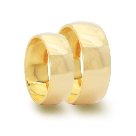 Promoção Par Alianças Ouro 18k Casamento 4mm 4gr Nota Fiscal