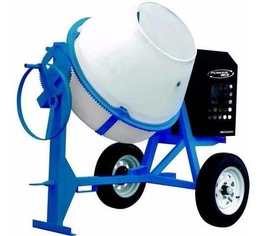 Revolvedora De Concreto 2 Saco Polietileno Mpower Motor 13hp