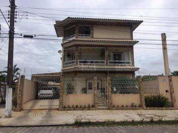 Sobrado Com 4 Dorms, Indaiá, Caraguatatuba - R$ 1.2 Mi, Cod: 421 - V421