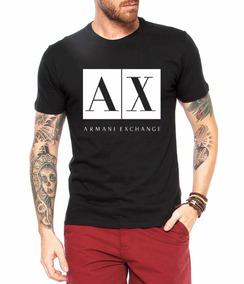 Camisetas Personalizada Armani Exchange Ax 100% Algodão