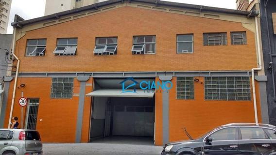 Galpão À Venda, 477 M² Por R$ 2.200.000 - Alto Da Mooca - São Paulo/sp - Ga0362