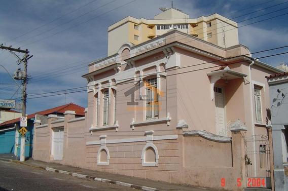 Casa Comercial À Venda, Centro, Amparo. - Ca0741