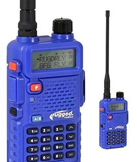 Radios Robustas Rh5r 5 Vatios De Doble Banda Radio De Mano U
