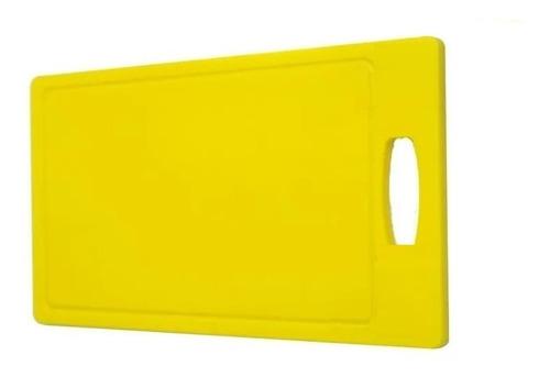 Tábua Placa De Polietileno Alimentos Colorida 33x25 10mm