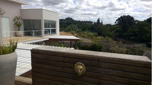 Casa Com 4 Dormitórios À Venda, 500 M² Por R$ 2.900.000,00 - Parque Rural Fazenda Santa Cândida - Campinas/sp - Ca3795