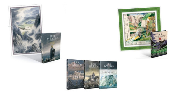 O Hobbit Os Filhos De Húrin A Queda De Gondolin+ 2 Livros