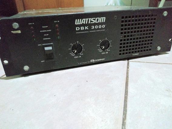 Amplificador Ciclotron Wattson Dbk3000
