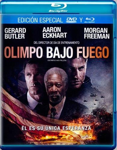 Olimpo Bajo Fuego Olympus Fallen Pelicula Blu-ray + Dvd