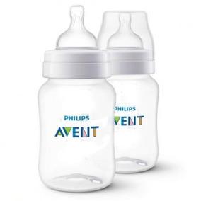 Conjunto Com 2 Mamadeira Anticolica Otima Para Bebe Barata