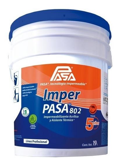 Impermeabilizante Acrílico Imper Pasa® 802 5 Años
