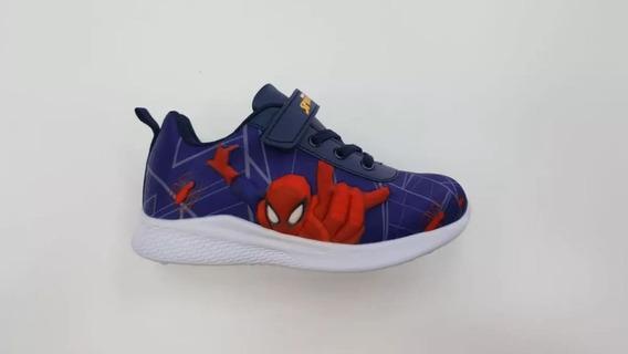 Zapatilla Marvel Velcro Spiderman Mvl012 Nene Asfl70 Oferta