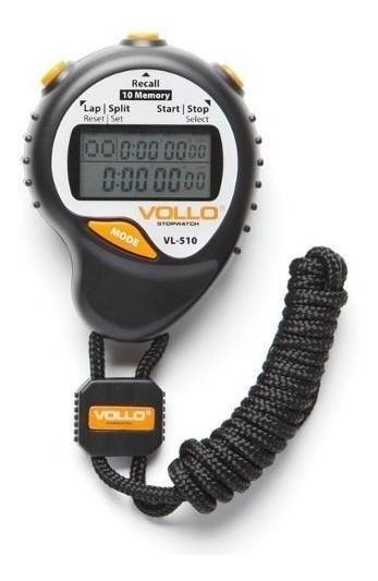 Cronômetro Digital Profissional Vollo Vl-510 Original