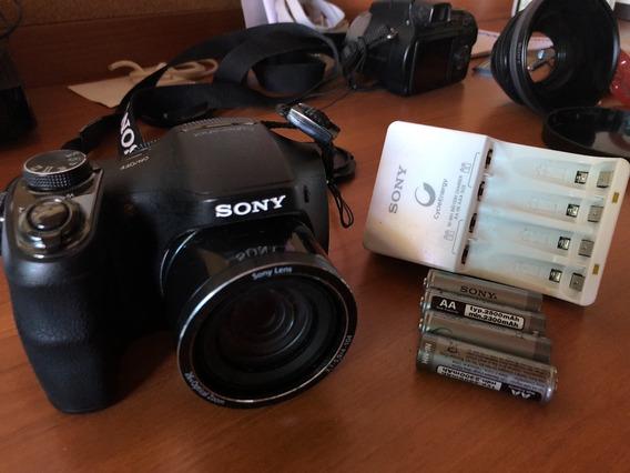 Câmera Digital Sony Cyber-shot Dsc-h200 20.1mp Venda Rapida