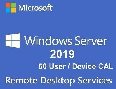 Windows Server 2019 + 50 Cals - Ativa Online