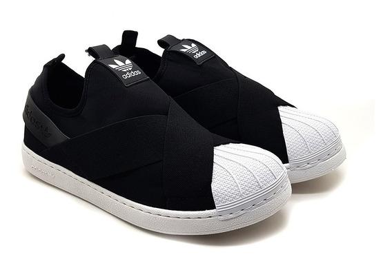 Tênis adidas Superstar Slip On -50% Off Promoção + Meia