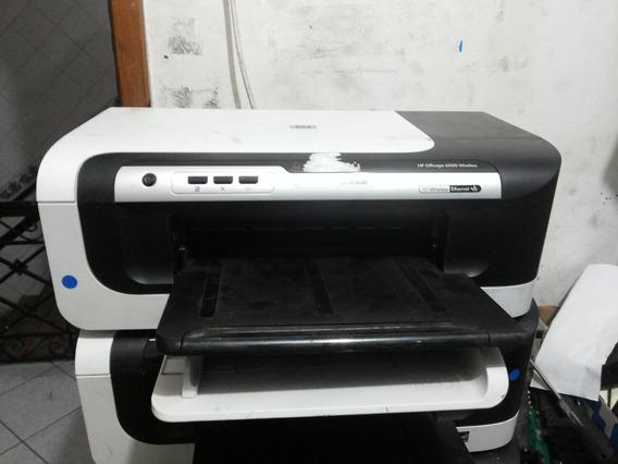 Impressora Hp Officejet 6000 Wireless Não Testada ( Usada )