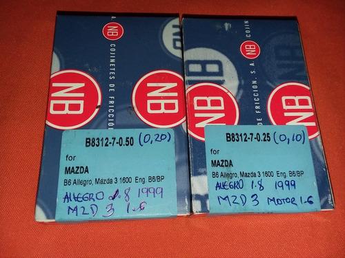 Conchas De Biela Mazda 3 Motor 1.6