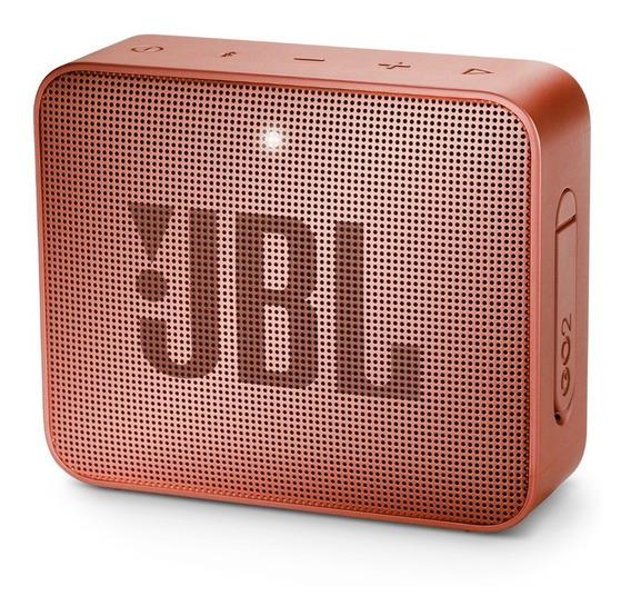 Caixa De Som Bluetooth Jbl Go 2 Original - Cinnamon