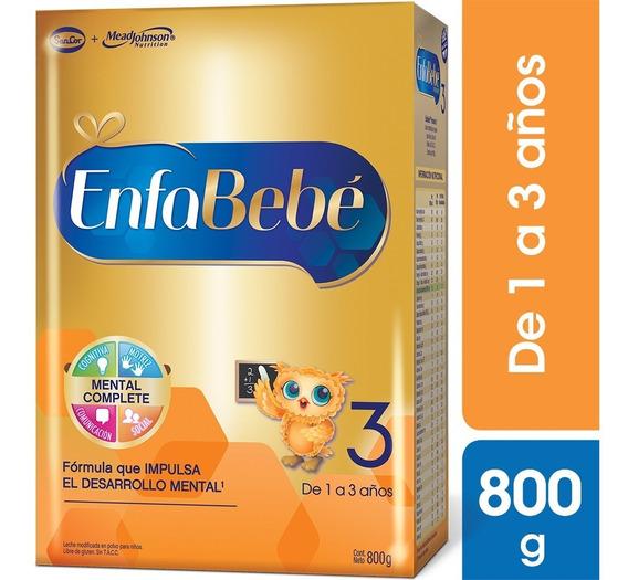Enfabebe 3 Premium En Polvo 1 Caja X 800g