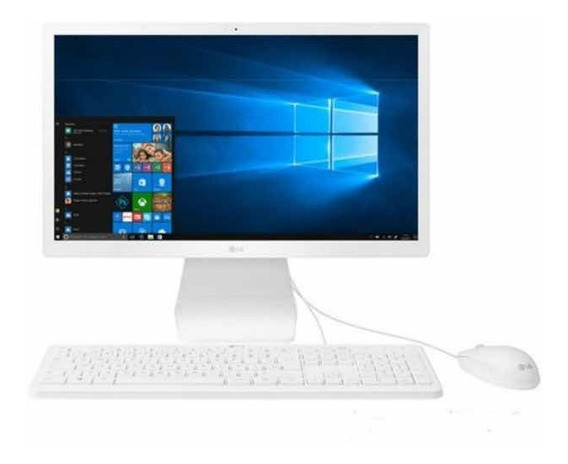 Computador All In One Lg Intel Celeron N4100 4gb 500gb 21.5