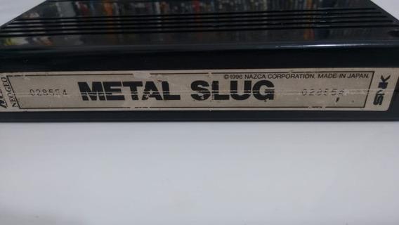 Metal Slug - Neo Geo - Cartucho Mvs - Original
