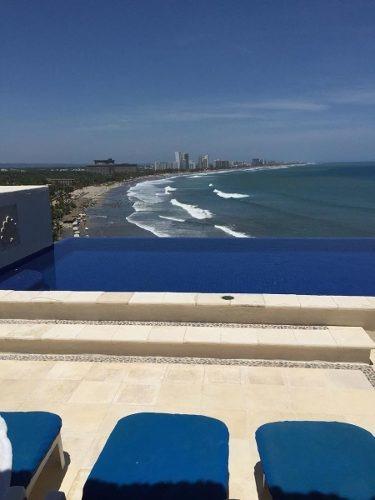 Departamento Acapulco Diamante Con Playa Privada
