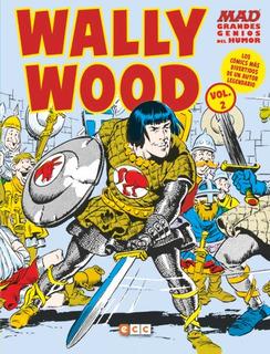 Comic Mad Grandes Genios Del Humor: Wally Wood # 02 (de 2)