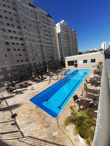 Aconchegante Apartamento Com 45 M2, 2 Dormitórios,1 Vaga De Garagem, Área De Lazer Completa, Jardim Nova Europa - Ap3565