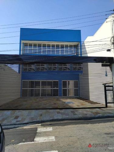 Imagem 1 de 17 de Prédio Para Alugar, 570 M² Por R$ 22.000,00/mês - Jardim Do Mar - São Bernardo Do Campo/sp - Pr0123