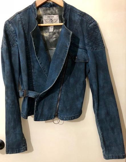Jaqueta Jeans Feminina Diesel Original - Zerada!