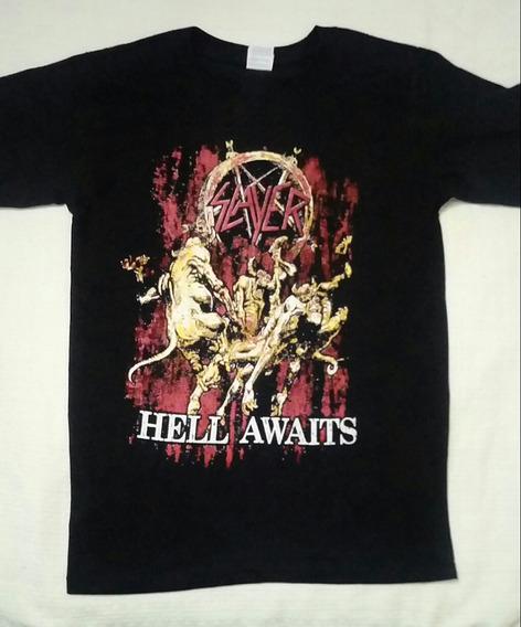 Playera De Slayer, Force Fest, Anthrax, Lamb Of God, Testame